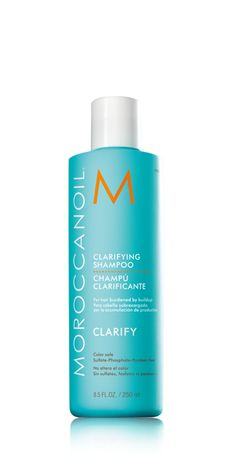 Moroccan oil Clarifying Shampoo cleanses the hair and scalp thoroughly, while helping to restore moisture balance. Formulated with essential oils it is designed to clear hair of product buildup, chlorine and environmental impurities. Use prior to color treatment for the most even results.
