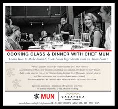 Chef Mun Cooking Class & Dinner Experience...