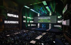 Hulu Upfront 2015 - by Atomic Design. Inspiration for #meetingprofs and #eventprofs at Eventinterface