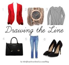 Drawing the Line by thelifestylecocktail05 on Polyvore featuring J.Crew, Balenciaga, rag & bone, MICHAEL Michael Kors and Sara Designs