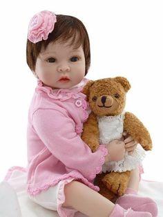 Oportunidade! Boneca Bebe Reborn Boneca 55 Cm Sob Encomenda