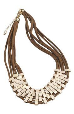 De fedeste Cellbes Halskæde Brun Guld Cellbes Smykker til Damer i lækker kvalitet