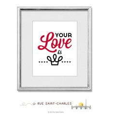 Your Love is King 1984 by Sade  printable art by RueSaintCharles