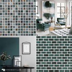 Inspired by the colors of the ocean, these serene grey blues impart a relaxing tone this#MosaicMonday.See more of nature inspired palettes from our Origins Earth, Universe, Fire, Water, and Air collections (and order your free samples!) here:http://bit.ly/2u3BO7l