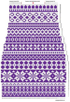 Knitting Machine Patterns, Knitting Charts, Knitting Socks, Knitting Projects, Crochet Projects, Fair Isle Chart, Xmas Stockings, Pattern Library, Fair Isle Knitting
