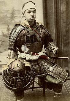 Samurai. (What a handsome man <3. I wonder what he is thinking of...)