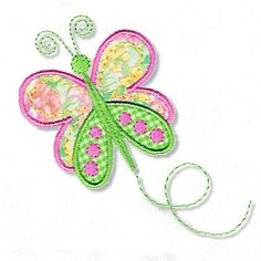 Dainty Butterfly Applique - 2 Sizes! | Spring | Machine Embroidery Designs | SWAKembroidery.com Abigail Michelle
