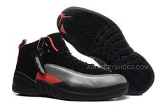 buy online f8048 0bed5 Girls Air Jordan 12 GS Black Grey Red For Womens Onlline For Sale from  Reliable Big Discount! Girls Air Jordan 12 GS Black Grey Red For Womens  Onlline For ...
