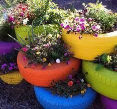 Now I know what to do with the old tires in my yard!!!!
