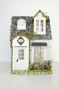 Promenade Townhouse Custom 1/12 Dollhouse by cinderellamoments on Etsy