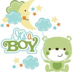 It's A Boy SVG scrapbook collection baby boy svg files for scrapbooking cardmaking cute svg cuts