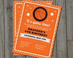 basketball birthday invitations basketball birthday and birthdays