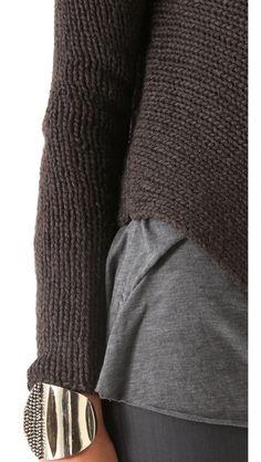 Helmut Lang Alpaca Cord Pullover