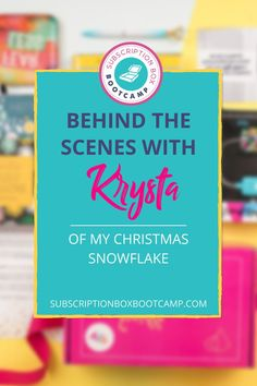 Tune in to hear Krysta shares her journey of launching My Christmas Snowflake, the challenges along the way, how she overcame them. Start a sub box, How to start a subscription box, Start a subscription box, Complete Business Plan, Business Ideas, How to Make Money, Entrepreneur Inspiration, Business Plan Execution, Subscription Box Business, Business Coaching, Trendy Business Ideas, Small business ideas, Success story! #business #planning #subscriptionbox #caoching #trendybusiness #blogging