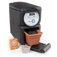 The Automatic Composter, Makes Indoor Composting Easy Outdoor Plants, Outdoor Gardens, Potager Bio, Under Sink, Lawn Care, Organic Gardening, Garden Tools, Garden Ideas, Make It Simple