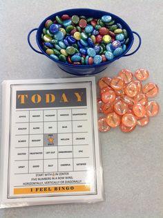 The Middle School Counselor: Today I Feel. . .like playing BINGO!