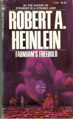 PAUL LEHR - art for Farnham's Freehold by Robert A. Heinlein - 1972 Berkley Medallion