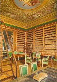 Napoleon's Library at Château de Compiègne. Compiègne, France.