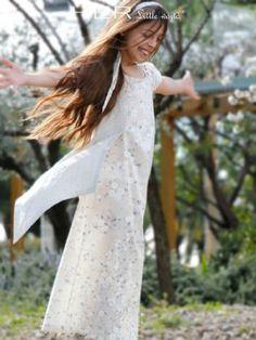 Patron de couture, modèle Nébuleuse, Robe longue
