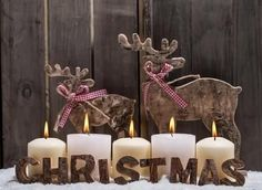 awesome easy Christmas candle displays are approaching for the holiday season to decorate your house with the trendiest Christmas decorations. you can find all that & more on http://www.4urbreak.com/