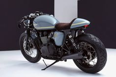 Turkish Delight: a high-performance Triumph Bonneville custom from Bunker of Istanbul. - Bike EXIF