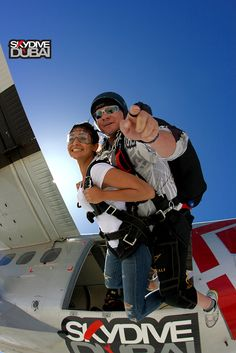 Tandem skydives with Skydive Dubai! Join us here: www.skydivedubai.ae/ to learn more about skydiving with us!