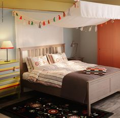 Bon HEMNES Bed Frame Ikea Bedroom Furniture, Bedroom Bed, Dream Bedroom, Canopy  Nursery,