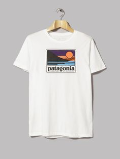 Patagonia Up & Out Organic Tee (White)