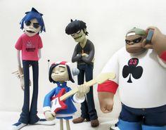 Gorillaz Black edition figures