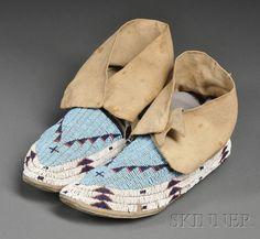 Lakota bead work from the 19th century