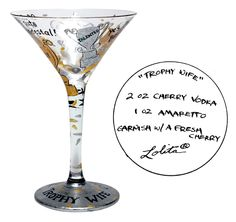 """""""Trophy Wife"""" tini  Matching for me.....20th Anniversary idea"""