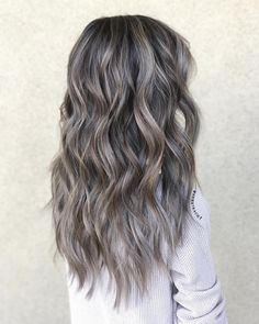 """837 Likes, 6 Comments - Kacie Nguyen (@hairbykacie1) on Instagram: """"Ash Ash Ash, it's never enough ash for this one. @vihpham Babylights & Haircut by @hairbykacie1…"""""""