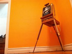 Easel by TheEmptyHouseStudio, via Flickr