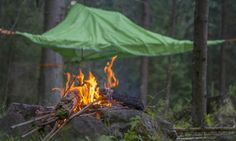 Thanks to its easy-to-hang system, the tent can be set up in just minutes in virtually any landscape.