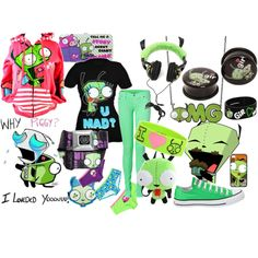 Now this is a outfit I would wear and call it girified or gir day hehe :)
