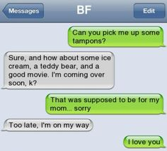 Trendy Funny Texts To Boyfriend Period Relationship Goals Funny Texts Jokes, Text Jokes, Funny Text Fails, Crush Texts, Funny Texts Crush, Cute Relationship Texts, Cute Relationships, Cute Text Messages, Text Messages Crush