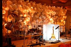 Paper Flower Wall = I AM DOING THIS!!!!!!!!!!!!!!!!!!!!!!!!!