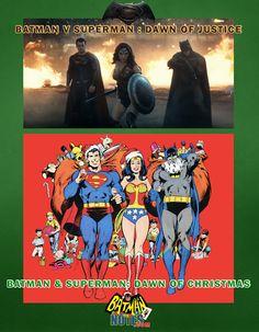 #THROWBACK #PROMO #URBANPARTYS #BATMAN #SUPERMAN #WONDERWOMAN #CHRISTMAS #DAWNOFJUSTICE #JUNE
