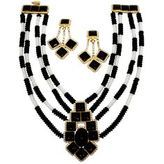 65 best red carpet style images vintage evening gowns vintage Hippie Carpet william de lillo 1960s black and white collar necklace with earrings