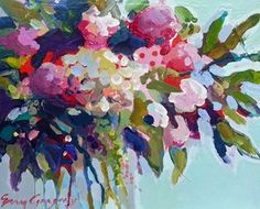Erin Gregory Still Life Acrylic   still life paintings - paintings by erin fitzhugh gregory