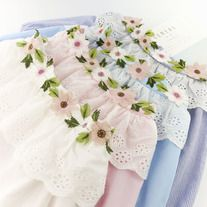 http://dejavucatfashion.com/products/20427029-flower-collar-off-shoulder-blouse  #flower #embroidery #pastel #kawaii #cute #offshoulder #blouse #top #sexy #elegant #dolly