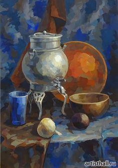 Работы наших учеников по живописи фото-16 Still Life Drawing, Painting Still Life, Gouache Painting, Painting & Drawing, Papier Paint, Easy Canvas Art, Academic Art, Guache, Oil Pastel Paintings
