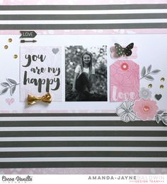 You Are My Happy   Hello Lovely   Amanda Baldwin   Cocoa Vanilla Studio