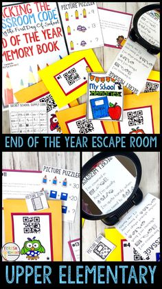 This is a free escape room game for your classroom games are end of the year escape room memory book cracking the classroom code grades 3 6 fandeluxe Images