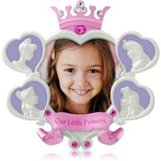 Our Little Princess - 2014 Hallmark Disney Photo Holder Ornament - Cinderella #Hallmark