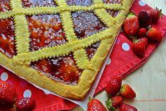 Crostata+con+Marmellata+di+Fragole