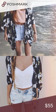 Spotted while shopping on Poshmark: Brandy Melville floral kimono! #poshmark #fashion #shopping #style #Brandy Melville #Other