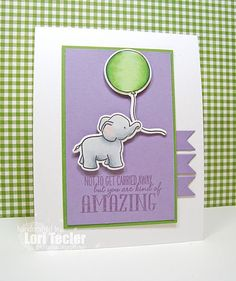 Not to Get Carried Away card (CTD333)-designed by Lori Tecler/Inking Aloud-stamps from WPlus9