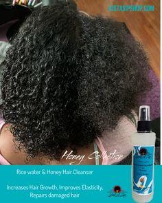 Help Hair Grow, Grow Long Hair, Wash Hair, Hair Rinse, How To Grow Natural Hair, How To Make Hair, Thicken Hair Naturally, Increase Hair Growth, Hair Cleanser