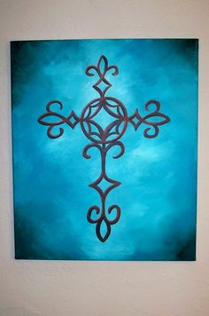 cross painting :) love this!